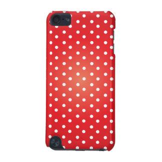 水玉模様赤いlrgrad.ai iPod touch 5G ケース