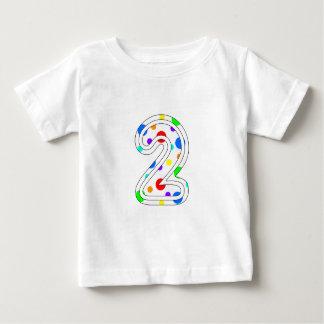 水玉模様2 ベビーTシャツ