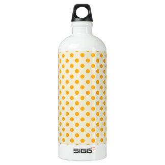 水玉模様-バニラの暗い蜜柑 ウォーターボトル