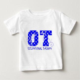 水玉模様 ベビーTシャツ