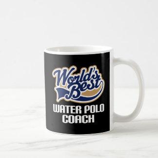 水球のコーチ(世界のベスト)のためのギフトのアイディア コーヒーマグカップ
