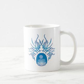 水球のスカル コーヒーマグカップ
