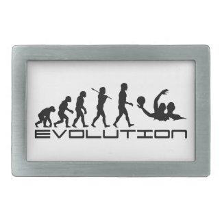 水球のスポーツの進化の芸術 長方形ベルトバックル