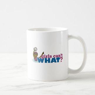 水球の女性 コーヒーマグカップ
