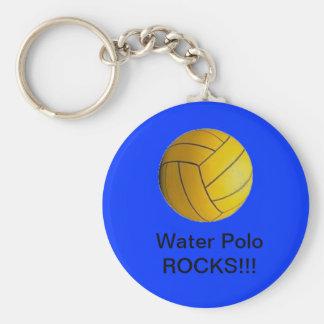 水球の石!!! keychainの青 キーホルダー