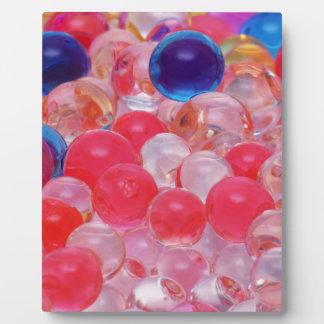 水球の質 フォトプラーク