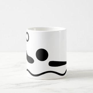 水球のWaterpoloのピクトグラム コーヒーマグカップ