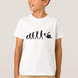 水球水球のスポーツ Tシャツ