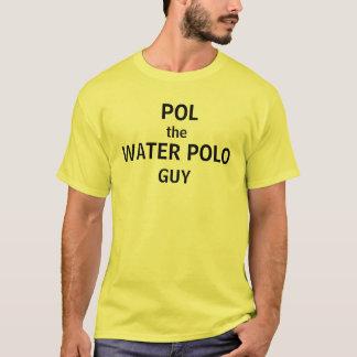 、水球、ポール人 Tシャツ