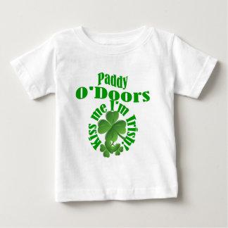 水田O'Doorsのおもしろいなアイルランドの名前 ベビーTシャツ