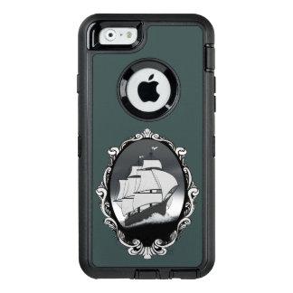 水箱の組み立てられた船 オッターボックスディフェンダーiPhoneケース