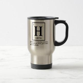 水素-人々に回るガス トラベルマグ