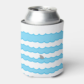 水絵のおもしろいでお洒落な鮫のひれ 缶クーラー