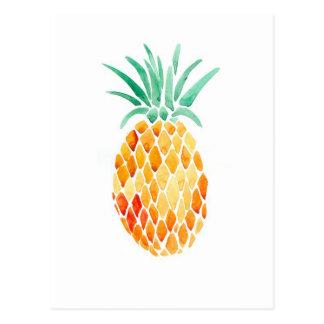 水色のパイナップル ポストカード