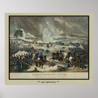 水色刷ゲティスバーグの戦い ポスター