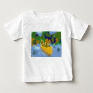 水芸術のカヌー ベビーTシャツ