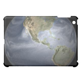水蒸気を示す完全な地球の眺め iPad MINI カバー