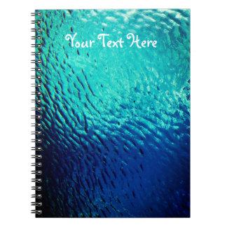 水表面下方から ノートブック