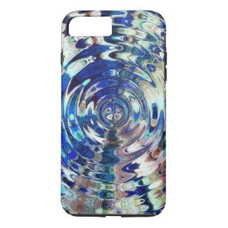 水要素のさざ波パターン iPhone 8 PLUS/7 PLUSケース