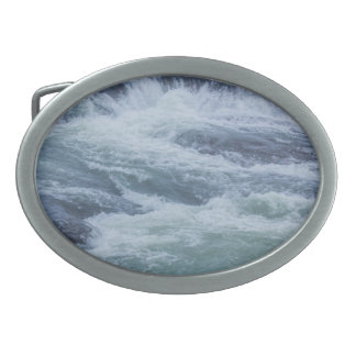 水質感 卵形バックル