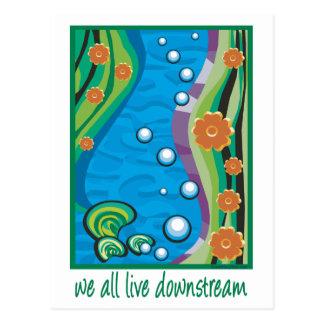 水質汚染 ポストカード