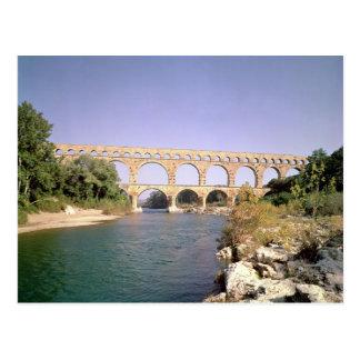 水路の眺め、造られたc.19紀元前に ポストカード