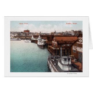水辺地帯の眺め カード