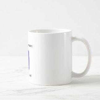 水道水は毒されます コーヒーマグカップ