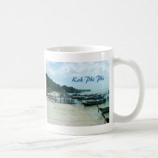 水酸化カリウム溶液のファイのファイ コーヒーマグカップ