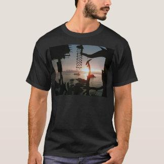 水酸化カリウム溶液タオ-タイ Tシャツ
