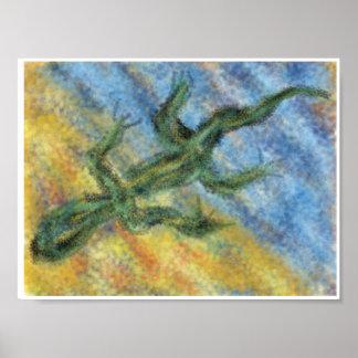 水陸両生的な自閉症 ポスター