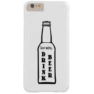 水飲み物ビールAppleのiPhoneの場合を救って下さい Barely There iPhone 6 Plus ケース