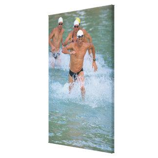 水2を使い果たすTriathloners キャンバスプリント