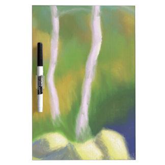 水、ホワイトボードによる木 ホワイトボード