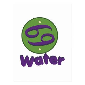 水 ポストカード
