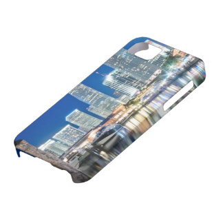 水、マイアミの反射のスカイラインの眺め iPhone SE/5/5s ケース