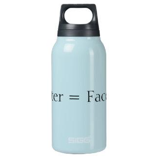 水=改築 断熱ウォーターボトル