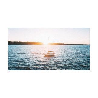 水|空|の海の帆船 キャンバスプリント
