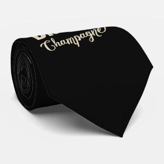 水、飲み物シャンペンを救って下さい オリジナルネクタイ