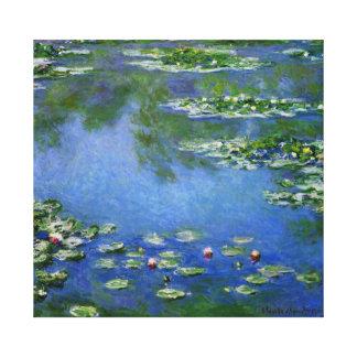 水Lilys Monetのファインアート キャンバスプリント