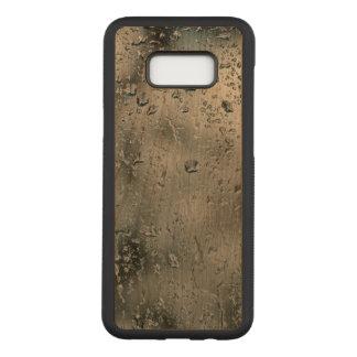 水Samsungの銀河系S8+ 細いさくらんぼ木箱 Carved Samsung Galaxy S8+ ケース