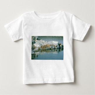 氷および雪 ベビーTシャツ