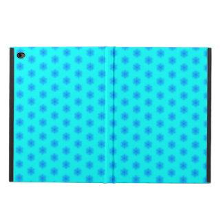 氷った水および青い雪片パターン POWIS iPad AIR 2 ケース