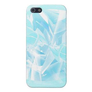 氷った渦巻のiPhone 4/4Sの場合 iPhone 5 Cover