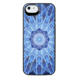 氷のはす曼荼羅 iPhone SE/5/5sバッテリーケース