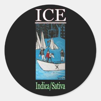 氷のインドのSATIVA ラウンドシール