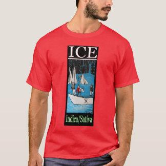 氷のインドのSATIVA Tシャツ