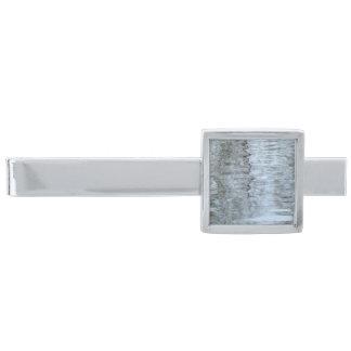 氷のタイ・バーの反射 銀色 ネクタイピン