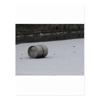 氷のバレル ポストカード