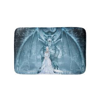 氷の女王およびドラゴンのバス・マット バスマット
